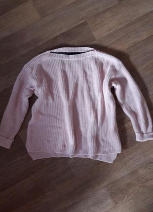 Кофта свитер m&s oversize 16р на наш 52-54р