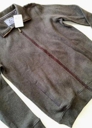 Классная кофта- куртка немецкой фирмы commander. германия. оригинал!