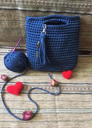 Плотная сумочка handmade