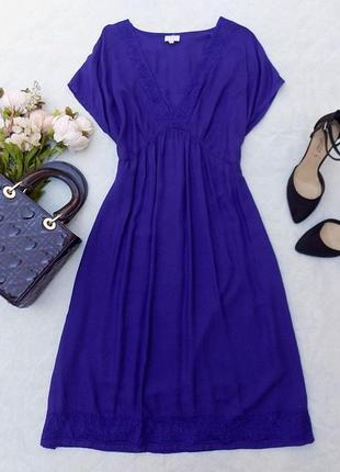 Новое платье из вискозы east, размер 14 (см. замеры)