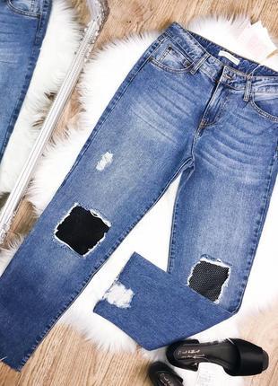 Женские джинсы stradivarius5 фото