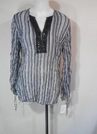 Шифоновая рубашка туника