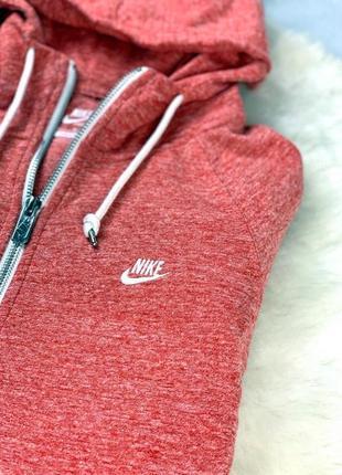 Зип-худи nike sportwear кораллового цвета (олимпийка)