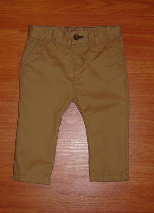 Коричневые штаны,брюки zara,зара,68,74,6-9 мес.