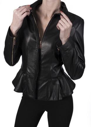 Нереально классная кожаная куртка куртка кожаная mango