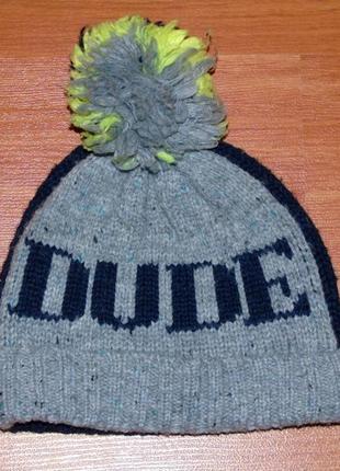Осення,весенняя, демисезонная шапка next,cool,dude,3-4 года, 104