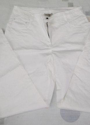Джинсы 46 canda белые