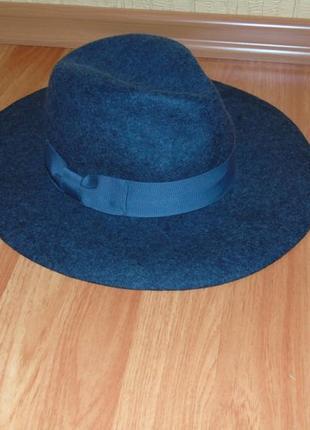 Серая шерстяная шляпа seeberger
