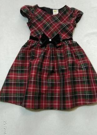 Супер плаття в клєточку✓сша✓оригінал✓8-9 років