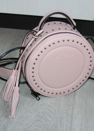 Красивая стильная эффектная сумочка