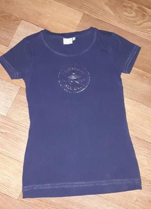 Брендовая футболка converse! оригинал! турция.размер s