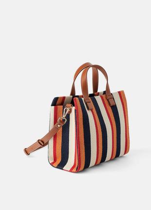 Новая фирменная сумка  в полоску