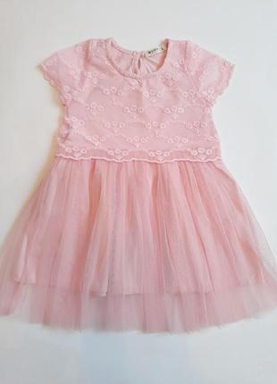 Ніжне літнє платтячко рожеве