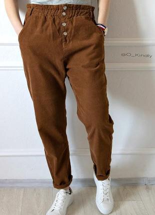 Вельветовые брюки от zara