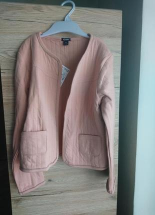 Стильный пиджак kiabi (франция)цвета пудры на 8 лет ❤️2 фото