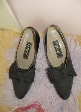Кожаные туфли gabor - германия.