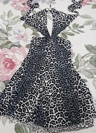 Платье - сарафан, длина миди  s