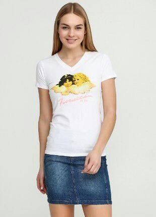 Женская футболка fiorucci итальянский бренд2 фото