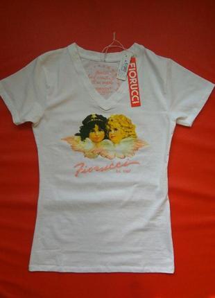 Женская футболка fiorucci итальянский бренд3 фото