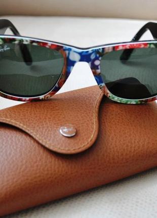 Очки ray-ban rb2140 hand made унисекс s италия цветные яркие оригинал брендовые
