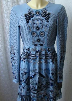 Платье вечернее needle&thread р.40-42 №7024 23пв