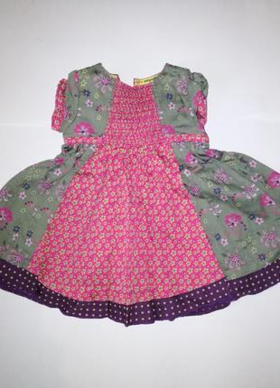 Платье marks&spencer на девочку 3 мес