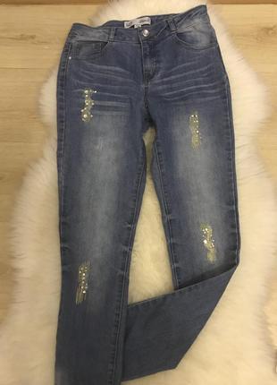 Нарядные джинсы для подростка