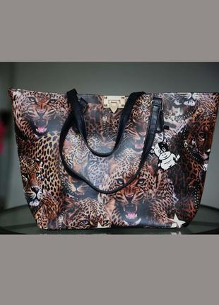 a8d08fa0ef99 Распродажа!!!стильная,большая,твердая сумка,с леопардами/леопардовый принт