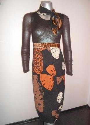 Платье женское теплое фирменное, италия
