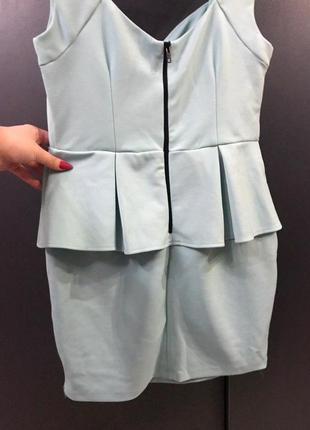 Платье бирюзовое new look