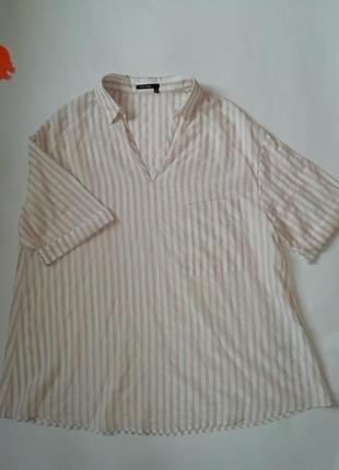 Блуза рубашка в полоску mark aurel оригинал