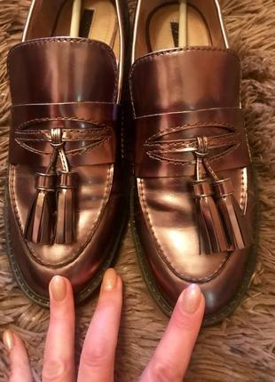 Туфли лоферы tahari р 40 {26см}2