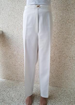 Класические штаны,брюки canda молочного цвета