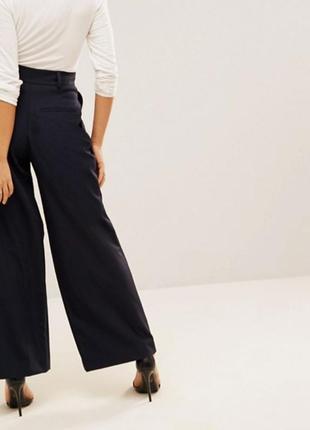 Широкие брюки со складками  asos petite/ лёгкий вариант2 фото