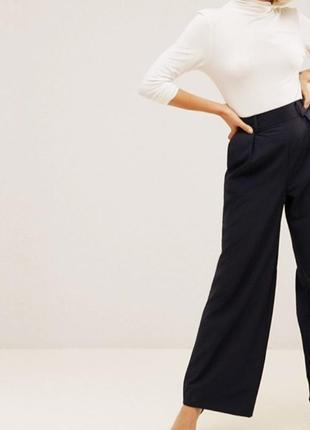Широкие брюки со складками  asos petite/ лёгкий вариант4 фото