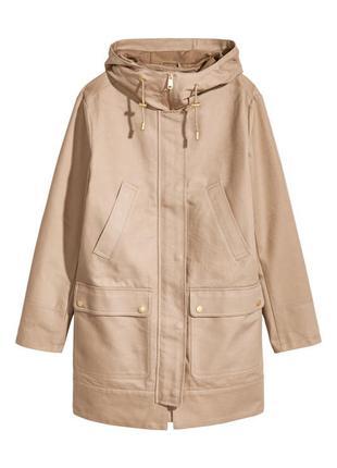 Парка h&m женская куртка ветровка1 фото