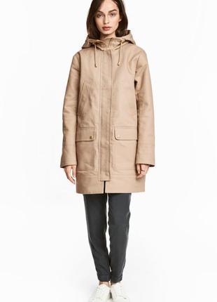 Парка h&m женская куртка ветровка2 фото