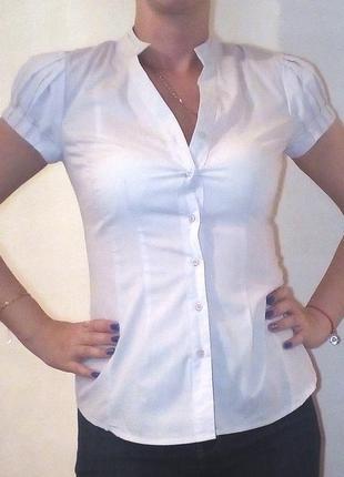 Блузка с рукавами-фонариками