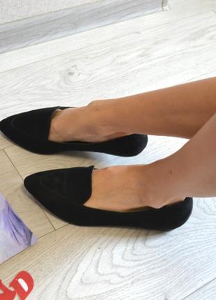 Стильные лаферы балетки туфли лодочки