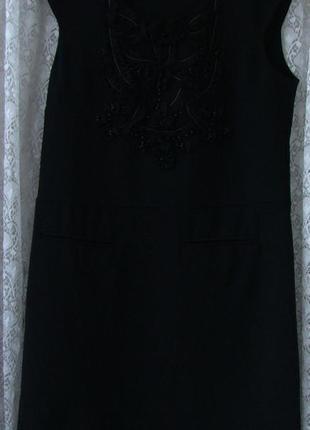 Платье модное черное мини good look р.44 №7029