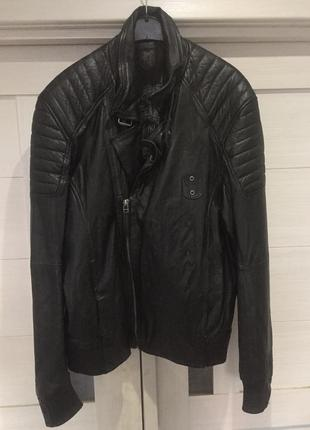 Кожаная куртка косуха gipsy