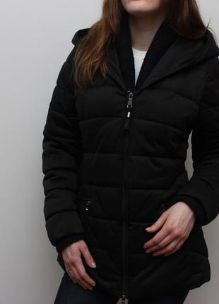 Утепленная оригинальная куртка geox respira
