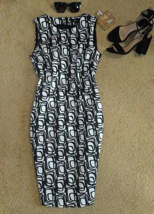 40052e482e9 Стильное платье футляр с принтом от h m