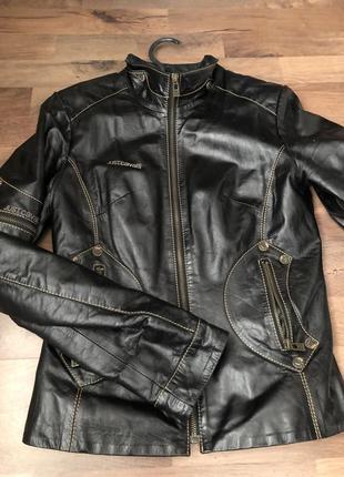 Куртка кожаная, шкіряна1 фото