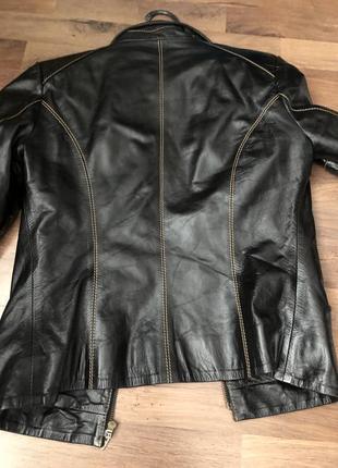 Куртка кожаная, шкіряна3 фото