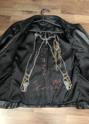 Куртка кожаная, шкіряна2 фото