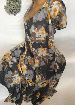 Шикарное нежное  платье в пол  marisota