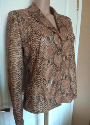 Шикарная змея!!! пиджак, жакет, блуза, куртка