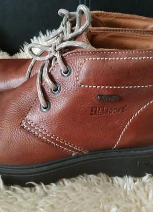 Grisport gritex ботинки кожа  нет стелек
