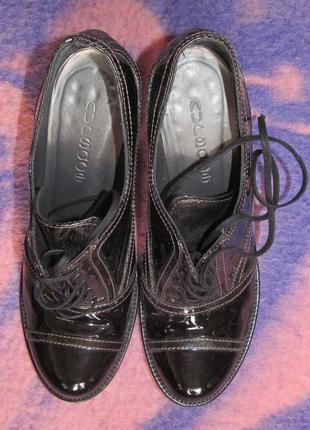 Итальянские туфли nursace из натуральной кожи, размер 37